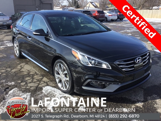 Certified Pre-Owned 2017 Hyundai Sonata Limited 2.0T